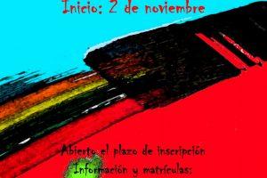 cartel anuncio escuela pintura y arte urbano
