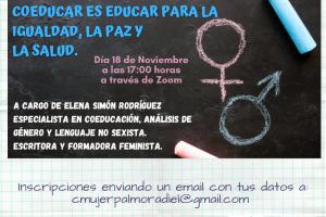 webinar igualdad mujer coeducar